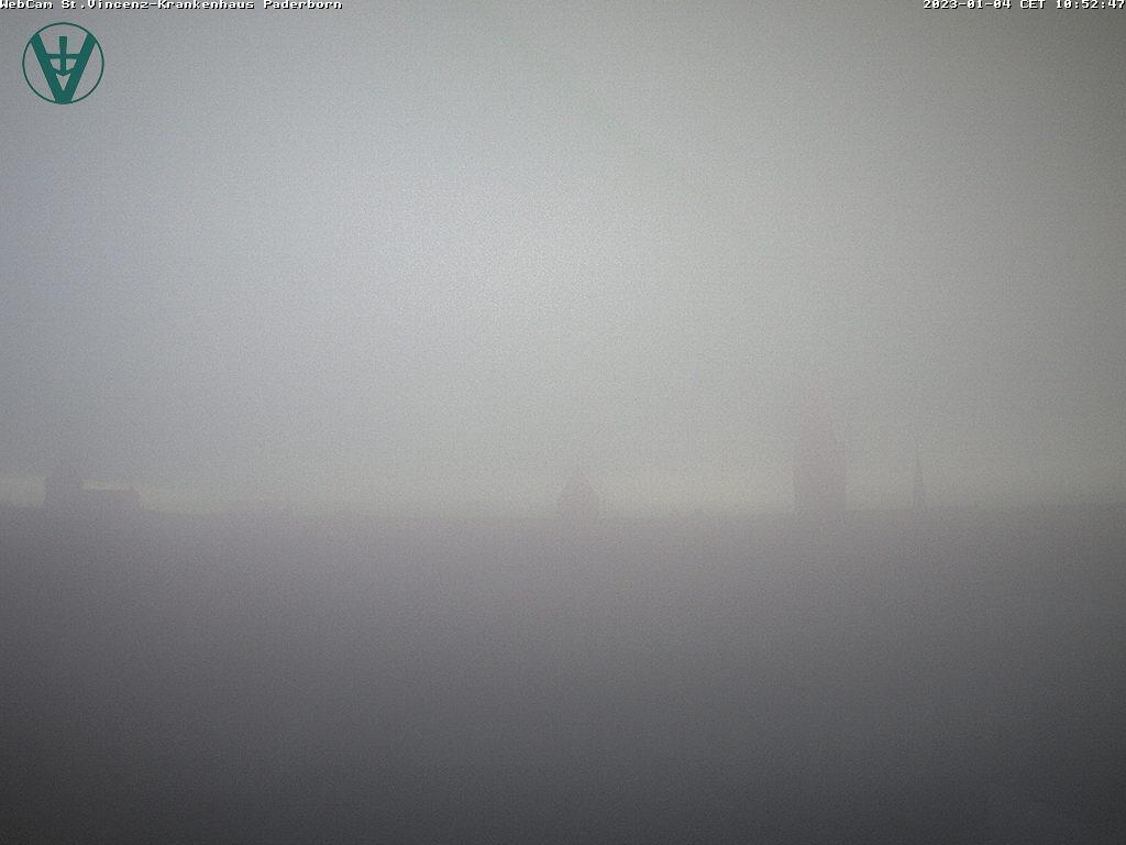 Paderborn, Wetterstation Vincenz Krankenhaus / Deutschland